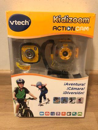 Cámara Kidizoom action de Vtech.