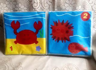 2 libros cambia de color y estimulación