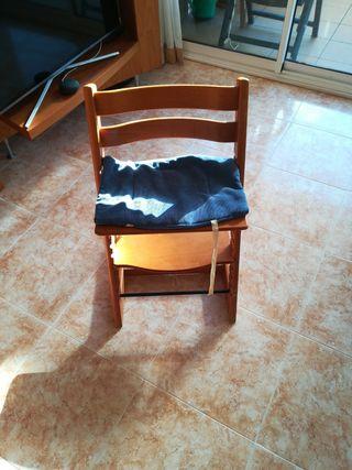 silla regulable para diferentes edades