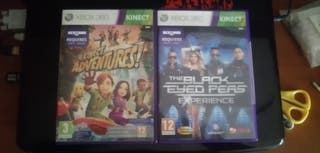 Xbox 360 The Black Eyed Peas y Kinect Adventures
