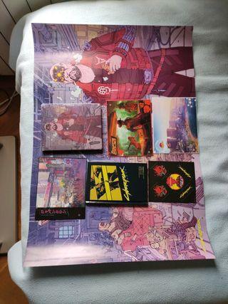 Comic caja póster postales pegatinas Cyberpunk2077