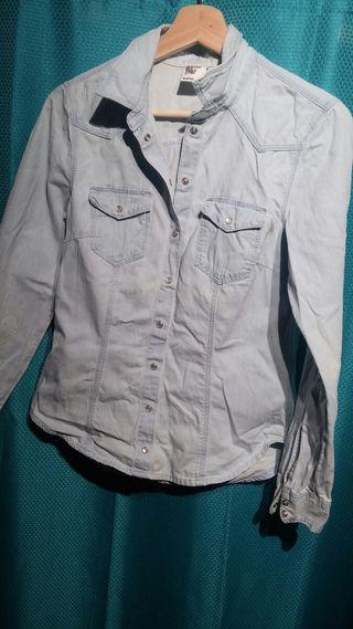 Camisa Denim H&M - Camisa Jeans de mujer H&M
