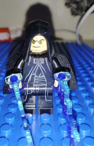 lego star wars Emperador Palpatine