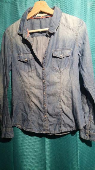 Camisa Denim Cache cache - Camisa Jeans de mujer