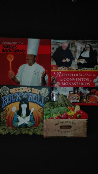 Lote libros de cocina