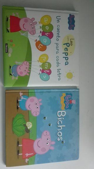 Lote libros Pepa pik