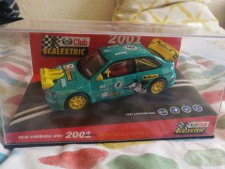Seat Córdoba WRC RALLY Scalextric 2001