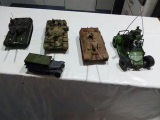 5 Vehículos militares Tamiya