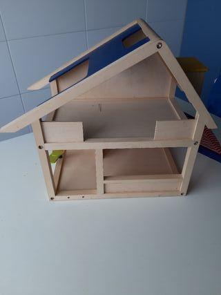 Casa, juguete de madera