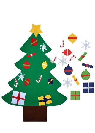 Árbol de navidad fieltro