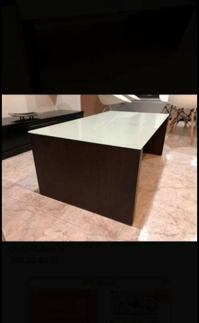 mesa centro elevable