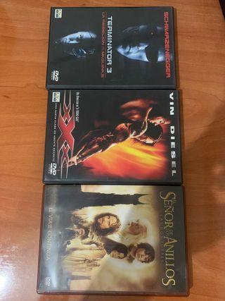 Terminator 3/El Señor de los Anillos y Triple X