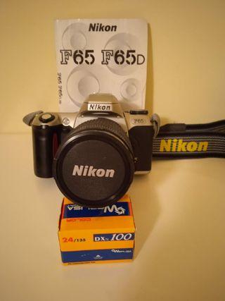 Cámara de fotos Reflex Nikon F65