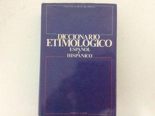 Diccionario etimológico español e hispánico Espas