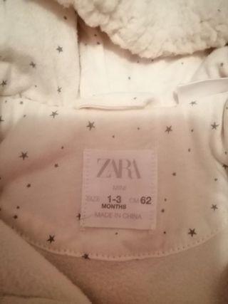 buzo bebe Zara