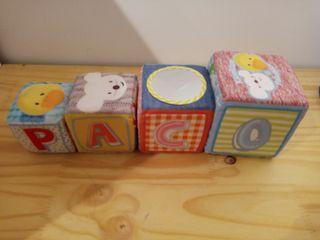 Cubos juguete imaginarium