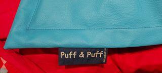 puff gigante , puff and puff