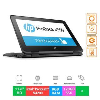 """HP ProBook X360 11 G1 EE - N4200 -8GB - 11.6"""""""