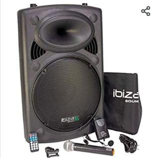 Sistema de Sonido Portátil. Equipo Música