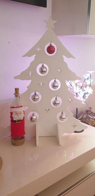 Arbol navidad madera