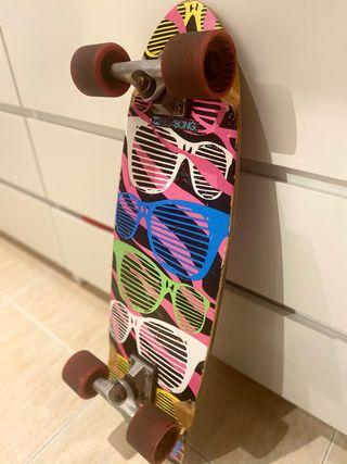 Carver skate longboard corto SPEED DEMONS