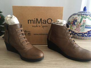 Zapato de piel miMaO