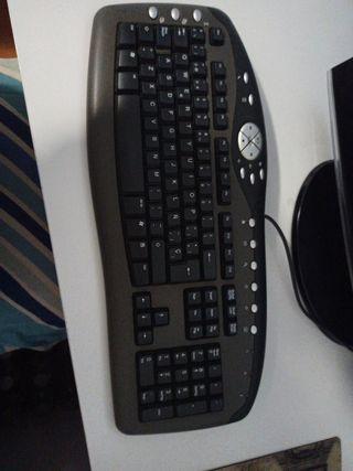 teclado con raton