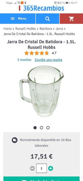 vendo batidora de vaso nuevo sin estrenarse