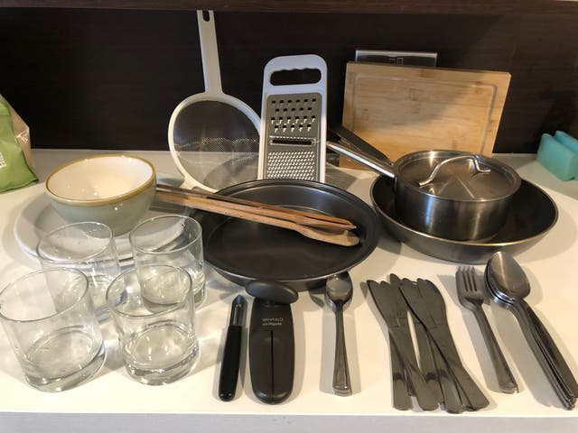 Cooking Stuff + Tableware basics
