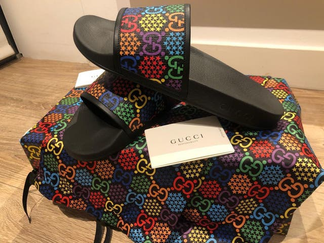 Gucci Psychedelic Slides
