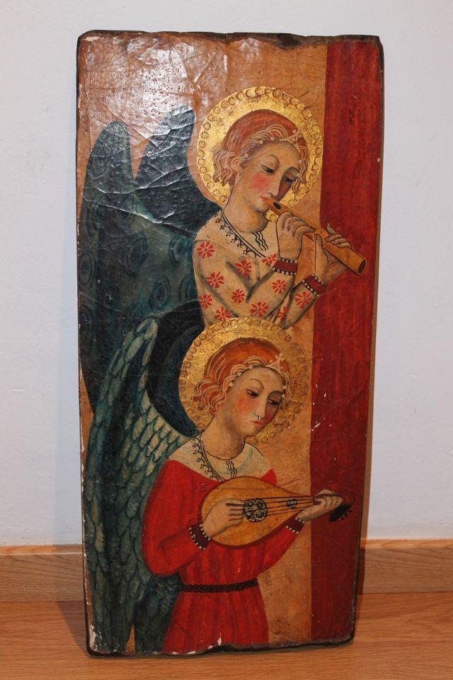 Reproducción retablo medieval