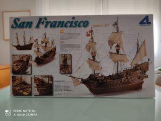 Maqueta de barco Galeón San Francisco