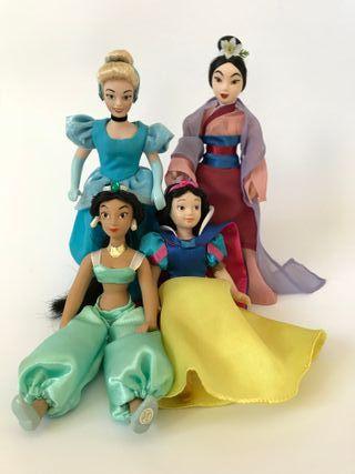 Princesa Disney de porcelana