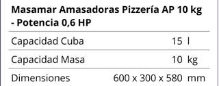 amasadora pizza ap10