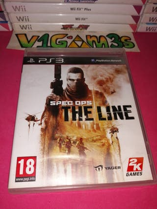 Spec ops the line ps3 PlayStation 3