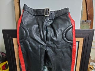 pantalón cuero vintage