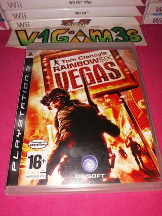 Rainbow six Vegas Tom clancy's ps3 PlayStation 3
