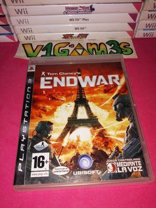 Endwar Tom clancy's ps3 PlayStation 3