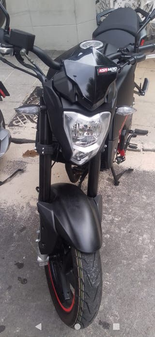 KSR Moto GSR Black Edition