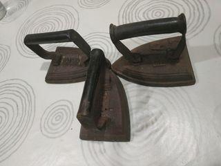 Planchas antiguas de hierro