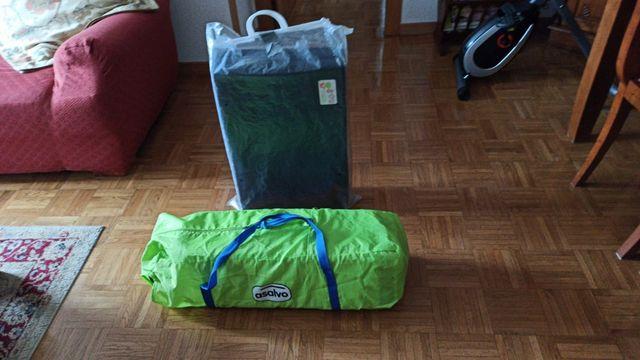 pack de cuna de viaje y colchon