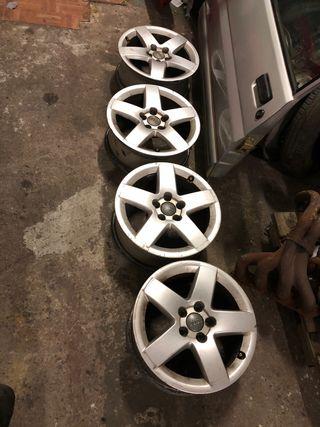 """Llantas Audi 15"""" 5x100"""