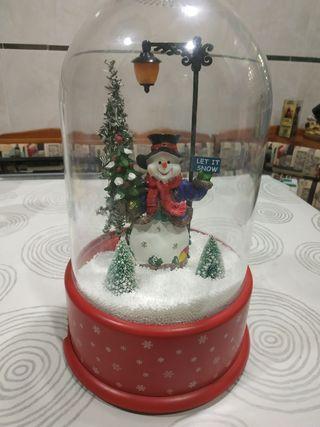 Aparato de muñeco de nieve. Navidad