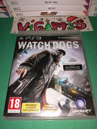watch dogs ps3 PlayStation 3
