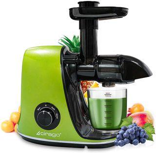 Exprimidor CIRAGO, para verduras y frutas.