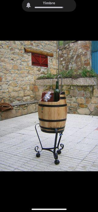 Escanciador a Batería típico Asturiano