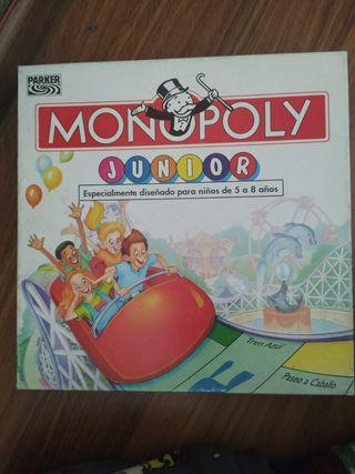 Monopoly Junior antiguo