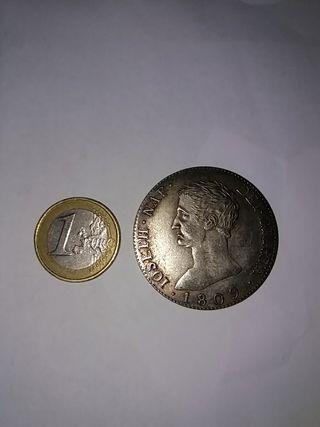 Moneda Réplica 1809 Rey José Bonaparte.