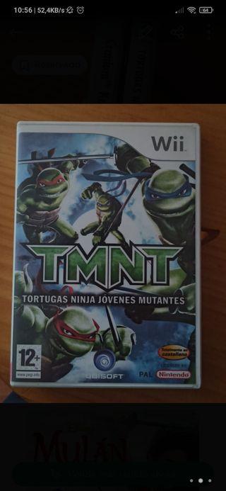 Juego Wii las tortugas ninjas