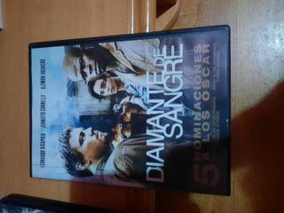película DVD diamante de sangre